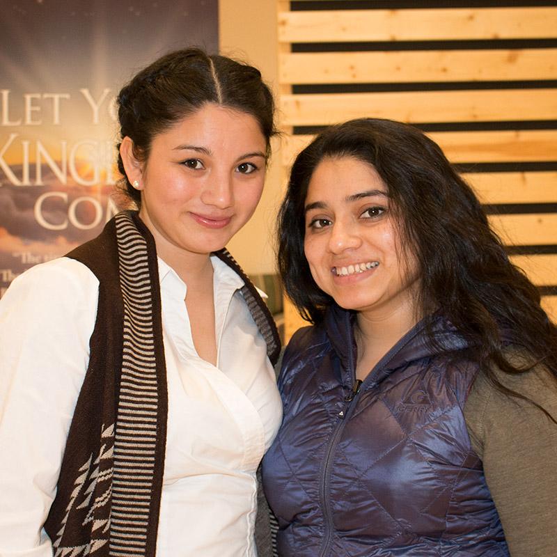 Aracelis y Marisela Santos