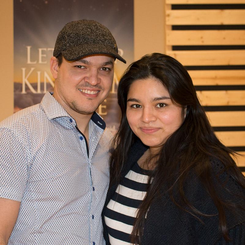 Jorge y Karen Ramírez